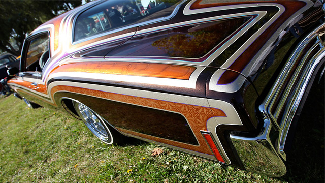 custom paint buick riviera 1971
