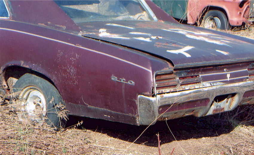 How i found my 1967 pontiac gto